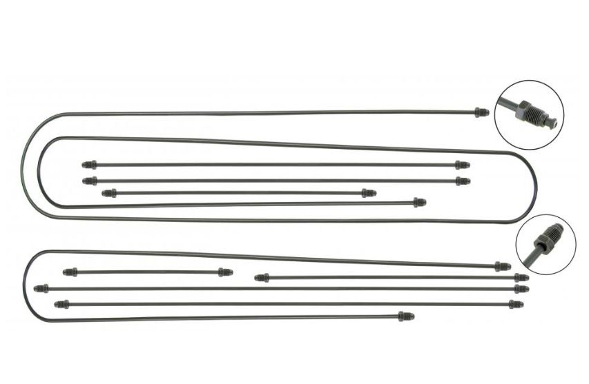 Trubky brzd/kit - Typ 2 (1955 » 56)