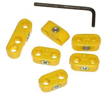 Držáky žluté/zapalovací kabely - Typ (4-válec)