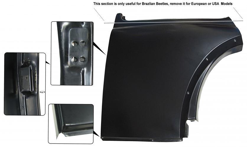 Panel boční/zadní L - Typ 1 (1966 » 03)