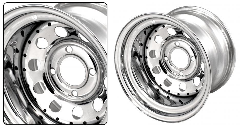 Kolo ocelové Modular/chrom - 4x130mm ET -37 (10.0x15)