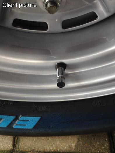 Ventilek kola/chrom (Ø 11.5mm-výška 49.0mm)