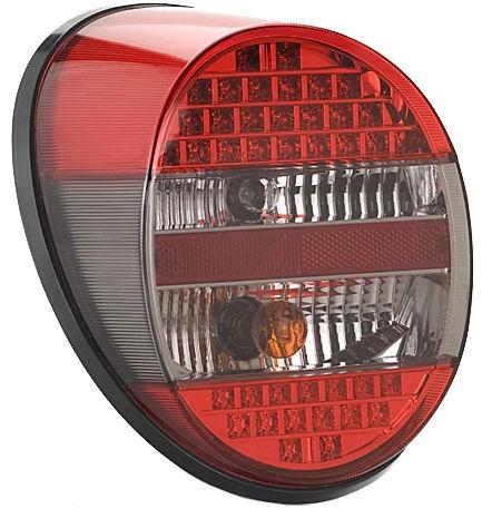 Světlo zadní LED červené/kouřové/červené L/P - Typ 1/181 US (1972 » 03)