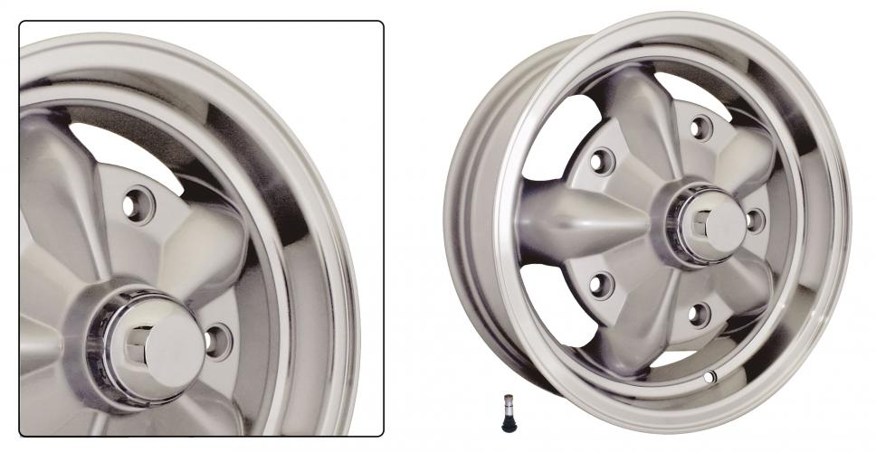 Kolo Torque/stříbrné ALU 5x205mm ET +16 (5.0x15)