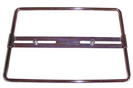 Držák SPZ/chrom (27x19.5cm)
