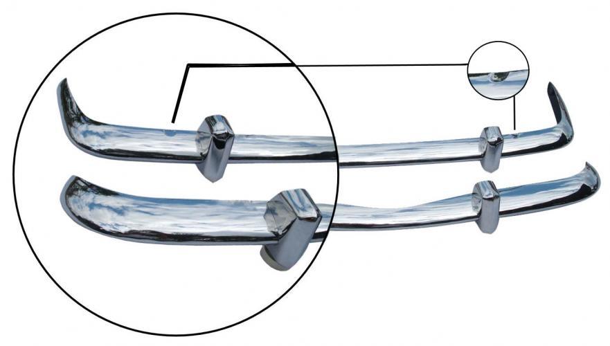 Nárazník přední/zadní S/S - Typ 14 (1967 » 69)