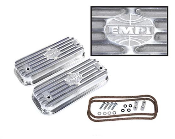 Víka ventilů EMPI/Alu pevná - Typ 2/4/25/Porsche 914/4 (IV motor)