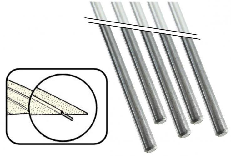 Výztuhy čalounění stropu/interiér - Typ 2/3 (1950 » 79)