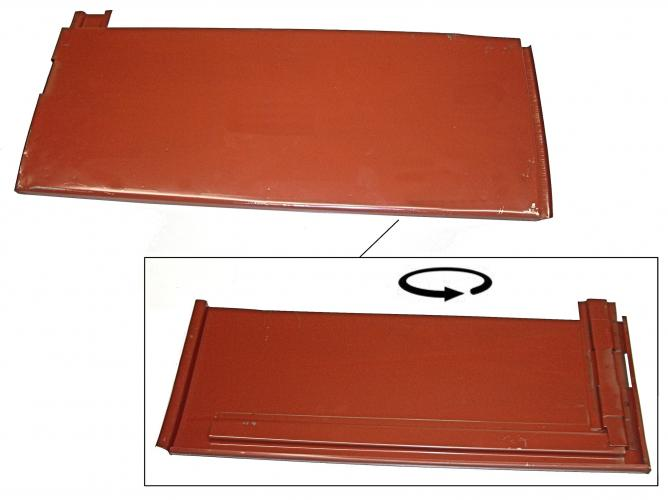 Panel bočních dveří+výztuha/vnější zadní - Typ 2 (» 1955)