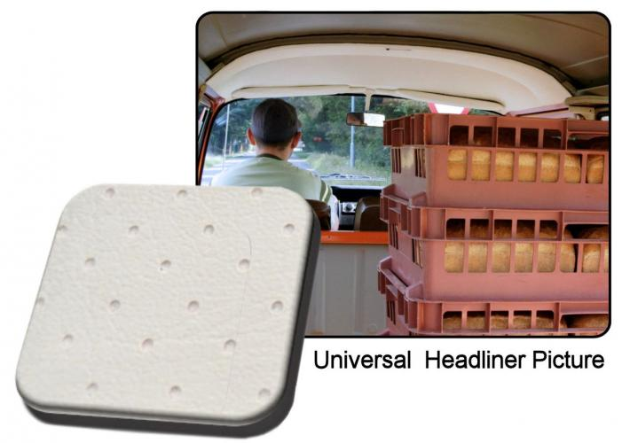 Čalounění stropu/bílý vinyl - Typ 2/kabina (1963 » 79)