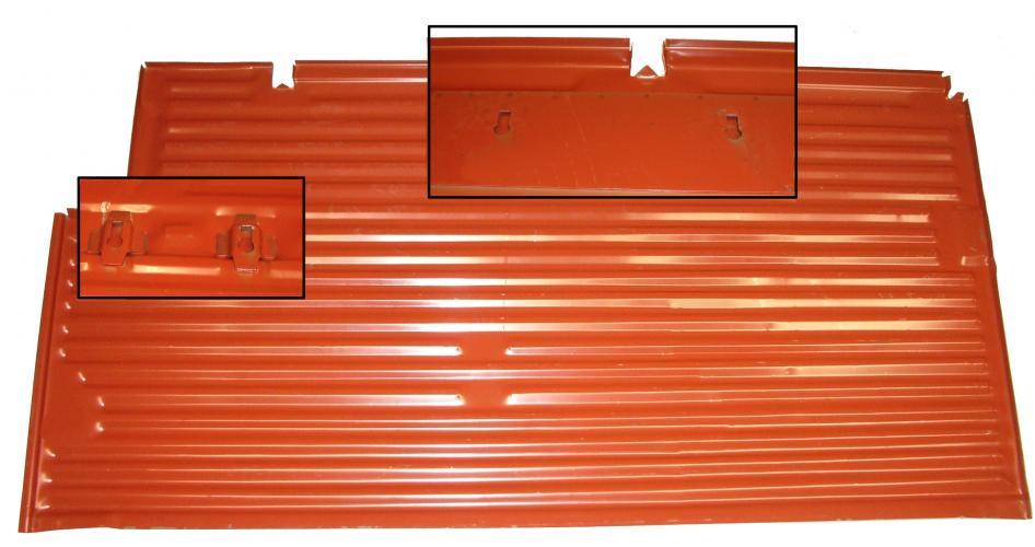Panel podlahy OE/L - Typ 2 (1955 » 67)