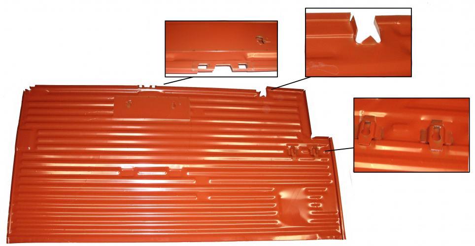 Panel podlahy OE/P - Typ 2 (1955 » 67)