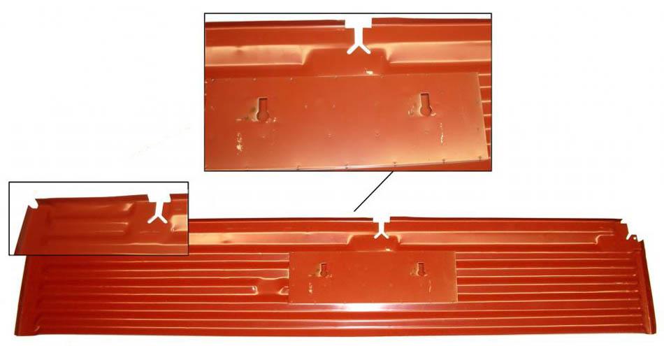 Panel podlahy/boční část L - Typ 2 (» 1967)
