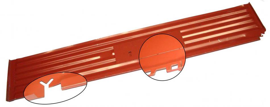 Panel podlahy/boční část P - Typ 2 (» 1967)