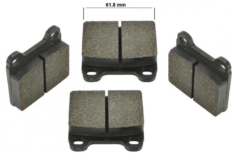Destičky brzd/přední - Typ 3/411 (1963 » 72)