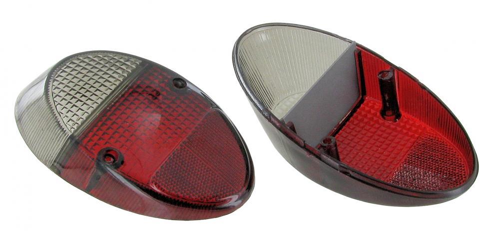 Skla světel kouřová/zadní L/P - Typ 1 (1961 » 73)