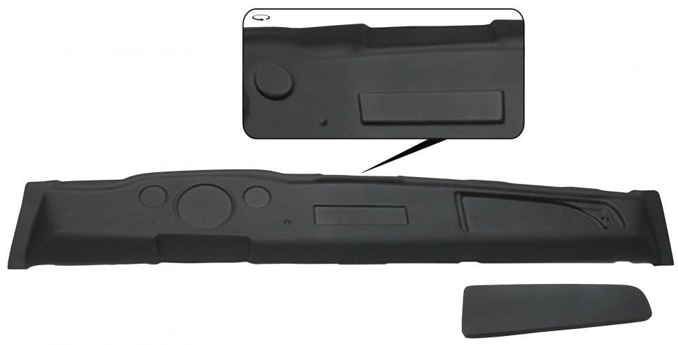 Palubní deska/černý plast - Typ 14 (1967 » 71)