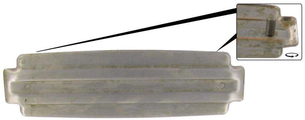 Záslepka rádia/palubní deska - Typ 1 (1952 » 57)