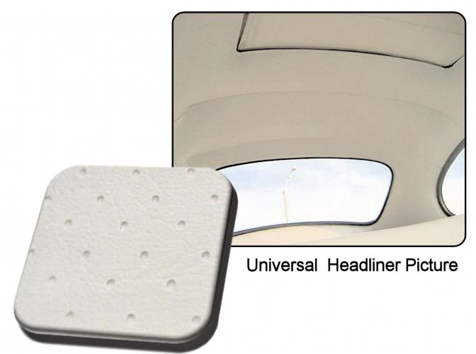 Čalounění stropu OE/střešní okno/bílý vinyl - Typ 1 (1963 » 67)