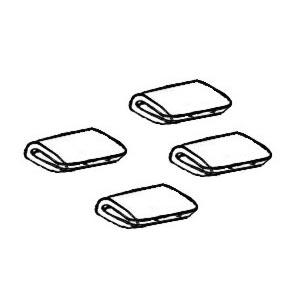 Spony Alu/okapové lišty - Typ 1/2/3/14/25 (#0959#3960#20959)