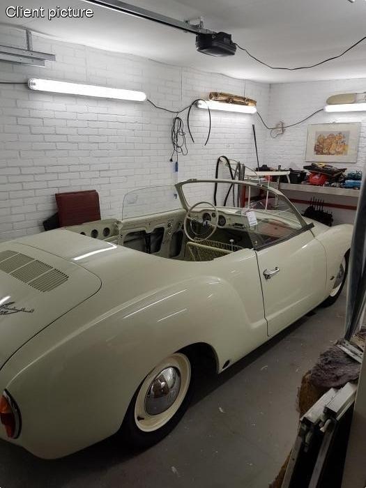 Sklo dveří čiré/L - Typ 14 Cabrio (» 1959)