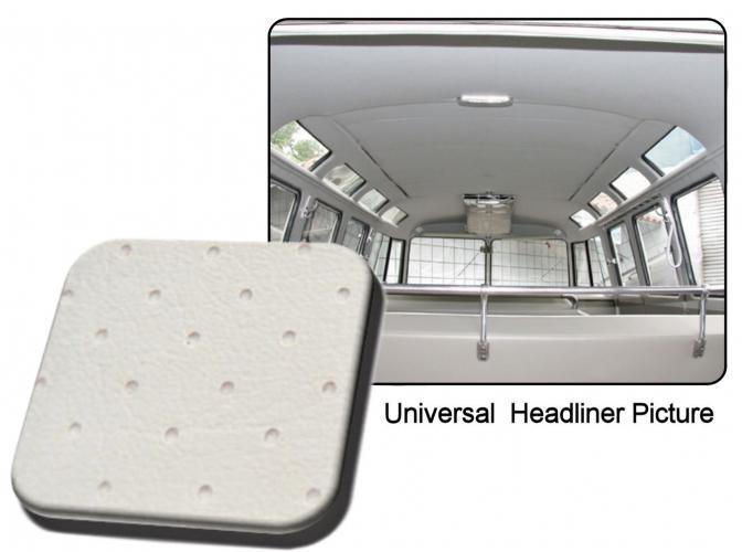 Čalounění stropu/bílý vinyl/faltdach - Typ 2 (1955 » 63)