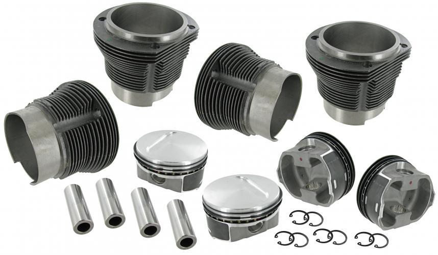 Písty/válce/103mm/71/2366cc - Typ 2/4/25/Porsche 914 (IV motor)