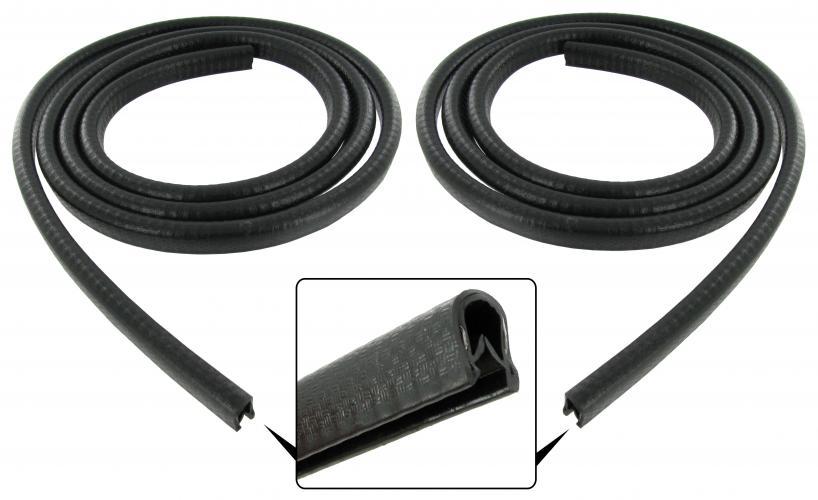 Lemy zadní ventilace černé/boční skla L/P - Typ 1 (» 2003)