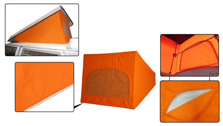 Střecha Westfalia oranžová/1 okno - Typ 2 (1967 » 74)