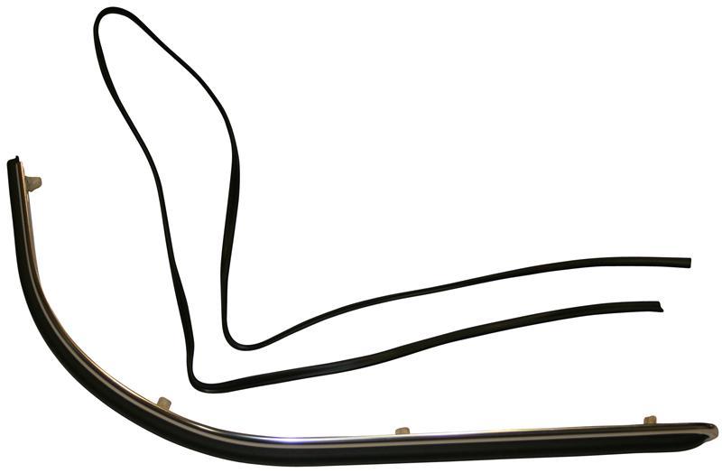 Lišta nárazníku L/P zadní - Porsche 911/912 (1963 » 68)