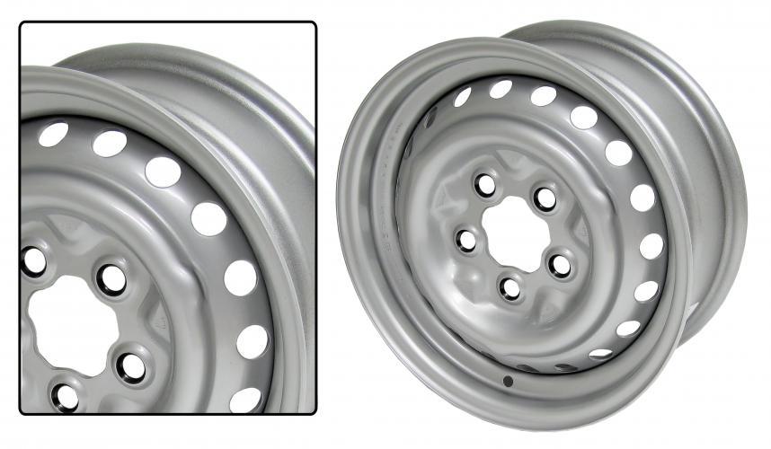 Kolo ocelové/lak 5x112mm ET +39 (5.5x14)