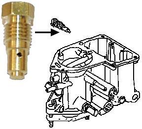 Tryska volnoběhu (60) Solex/Brosol - Typ 1 motor (1967 »)