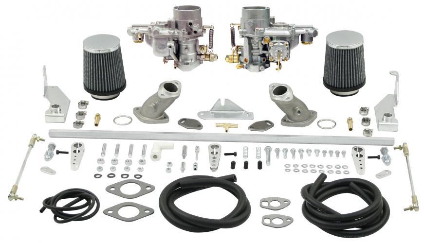 Karburátory EMPI EPC 34 dual/singl sání/kit - Typ 1 motor (» 1970)