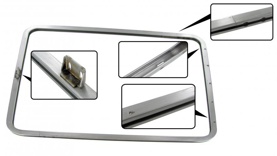 Rám/boční výklopné okno - Typ 2 (1954 » 67)