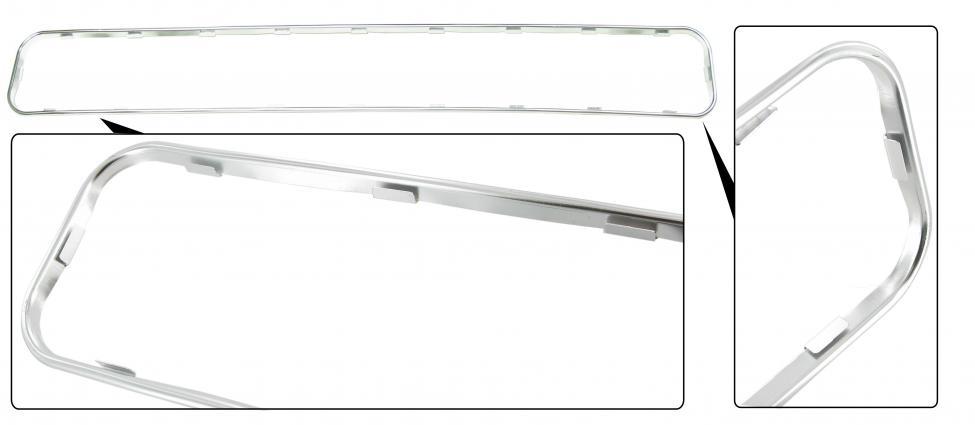 Rámeček Alu/přední mřížka ventilace - Typ 2 (1967 » 72)