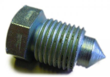 Zátka/hlavní válec brzd - Typ (M10x1mm)
