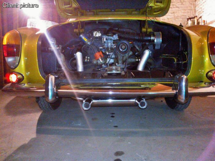 Výfuk se svody S/S GT Sport - Typ 1/14 (1.3-1.6)