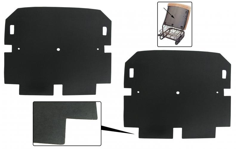 Lepenky/přední sedadla - Typ 1 (1964 » 72)