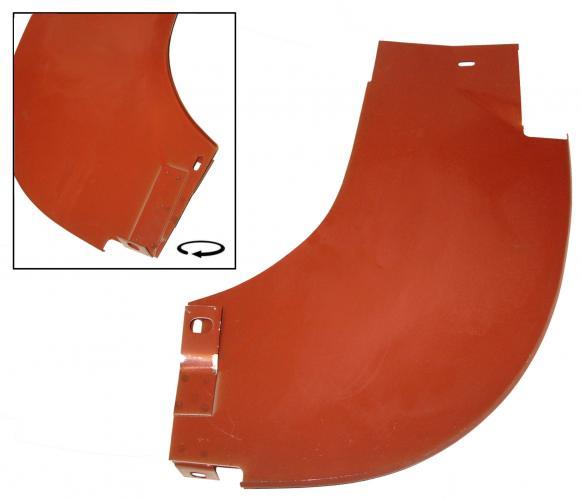 Nárazník zadní/lapač nečistot L - Typ 2 (1959 » 67)