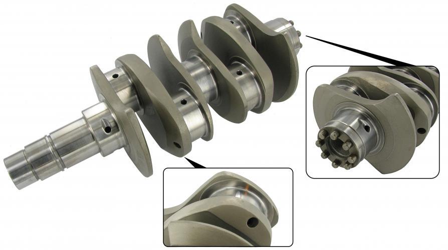 Kliková hřídel chromoly/VW Journal/zdvih 74mm - Typ 1/3/CT/CZ motory (race)