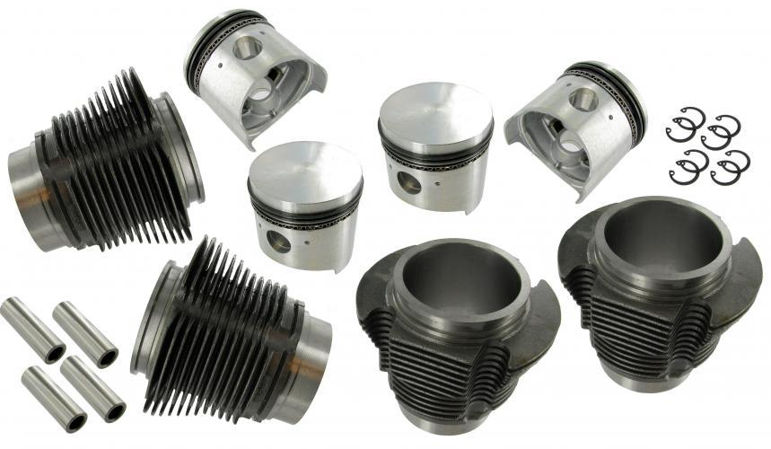 Písty/válce/kit 77mm/64/20/1192cc - Typ 1 motor (1.2)