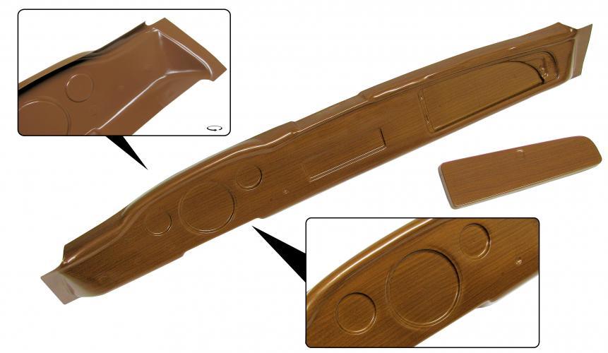 Palubní deska/imitace dřeva - Typ 14 (1967 » 71)