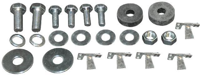 Stupačka/montážní kit - Typ 1 (#951206-5/6)