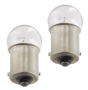 Žárovky 6V/10W (ukazatel směru+osvětlení SPZ)