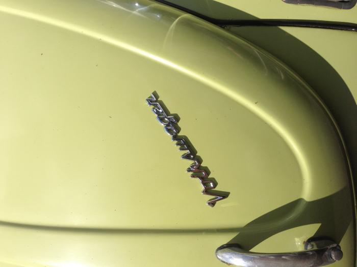 Znak Volkswagen/chrom - Typ (univerzal)
