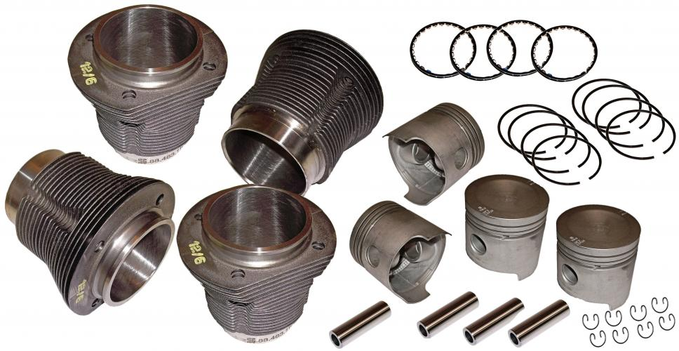 Písty/válce/kit - Typ 1/3/CT/CZ motory (69x83mm)