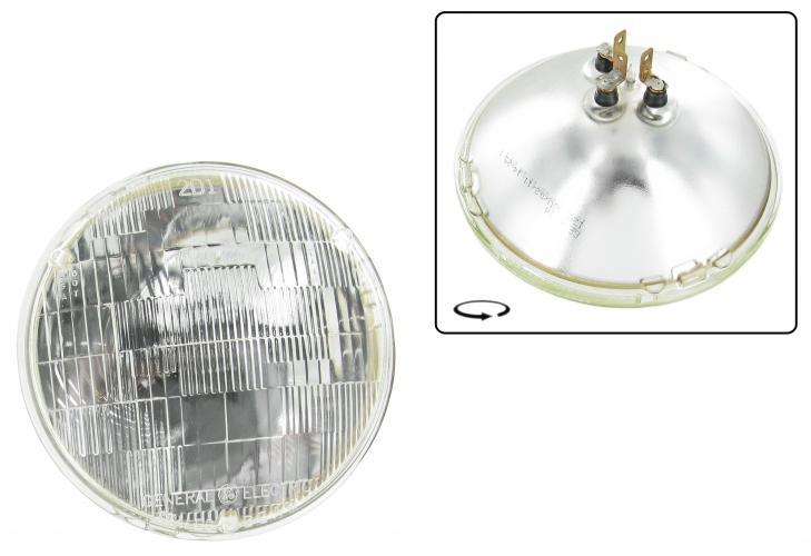 Světlomet 6V 50/40W/178mm - Typ US (univerzál)