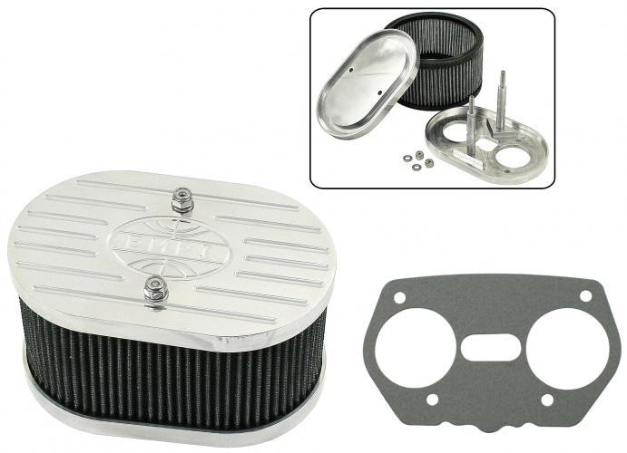 Filtr vzduchu Alu/182x119xx89mm (Weber IDF/Dellorto/EMPI HPMX)