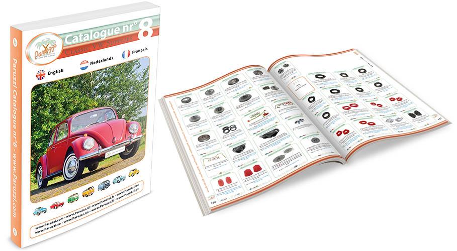 Katalog Paruzzi č.8 (Angličtina)