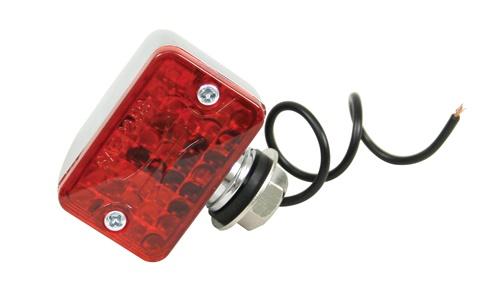 Světlo koncové poziční mikro/červené/1-vlákno - Typ (univerzál)