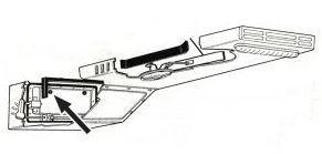 Dorazy/kontrolní klapka přívodu vzduchu - Typ 2 (» 1967)